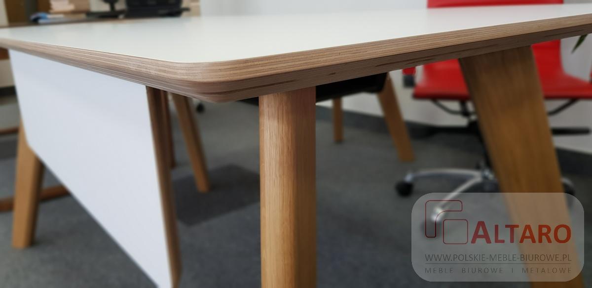 biurko gabinetowe SANDISS, meble biurowe, promocja ALTARO