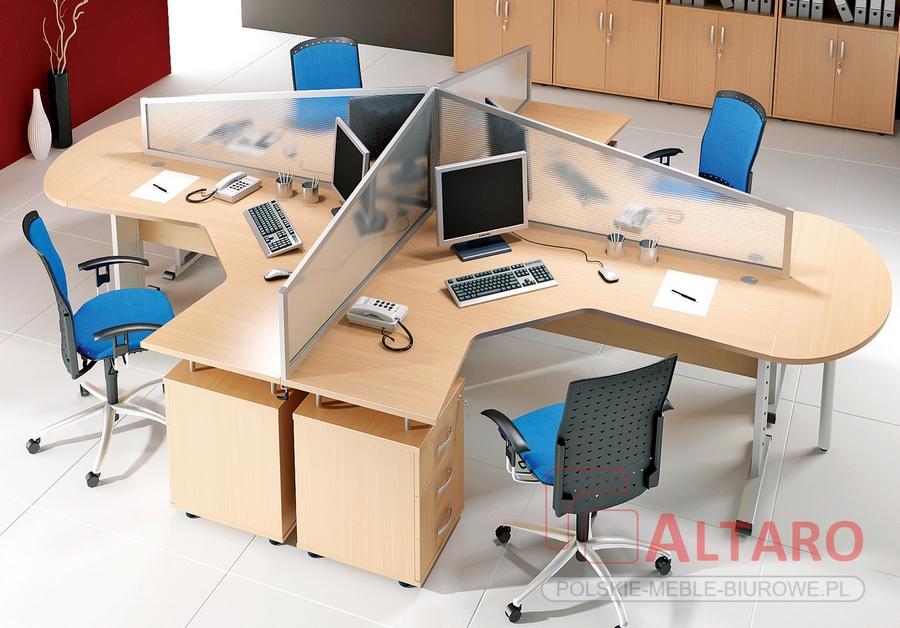 tanie meble do biura od Altaro, biurka OPT