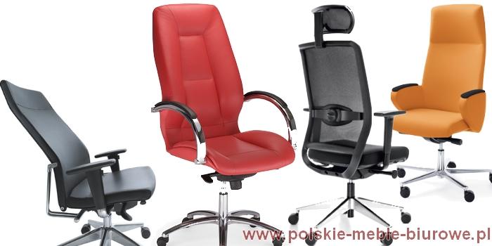 fotele gabinetowe biurowe