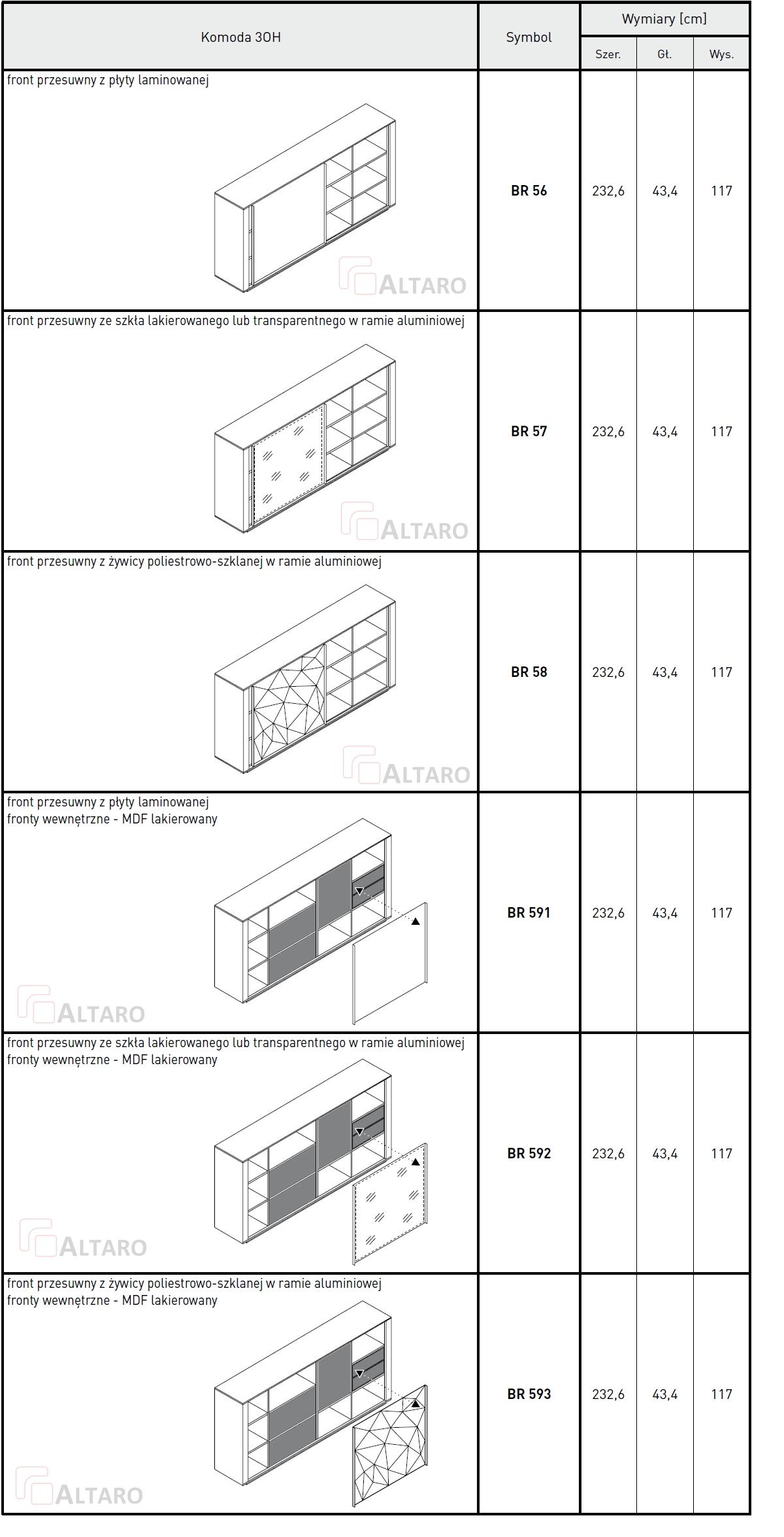 meble gabinetowe BRAND katalog v9 ALTARO