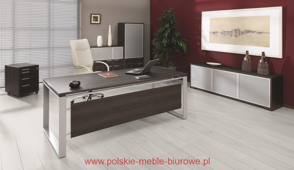 nowoczesne meble gabinetowe iryd biurka gabinetowe
