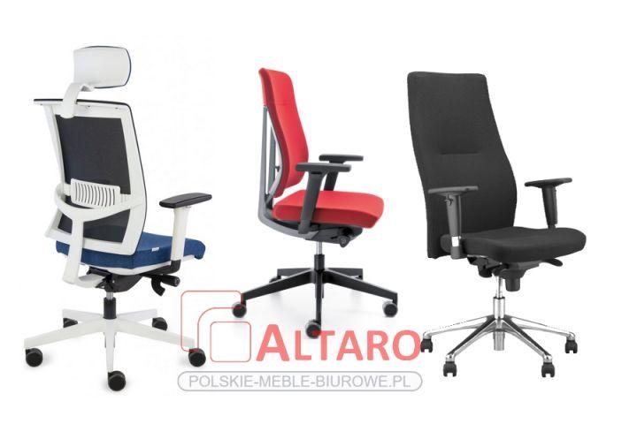 Krzesła biurowe obrotowe ALTARO