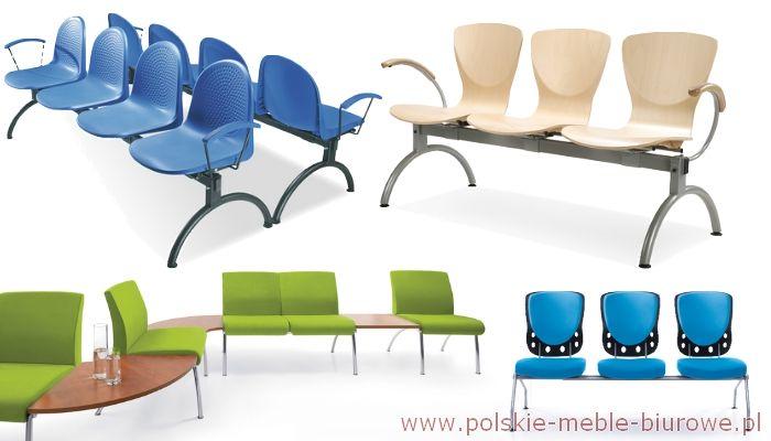 ławki i krzesła do poczekalni