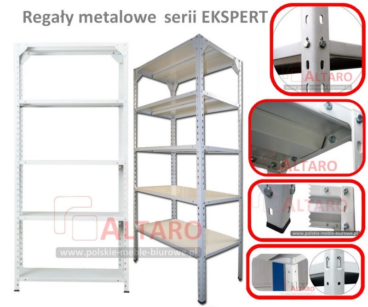 regały metalowe polskie EKSPERT