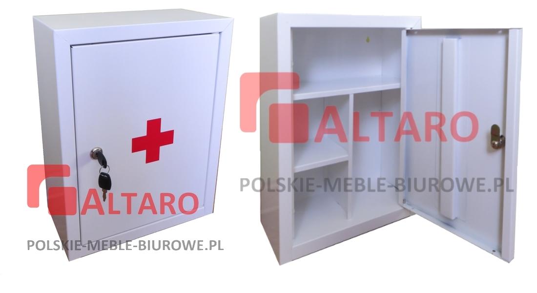 apteczka metalowa biała AL39 ALTARO