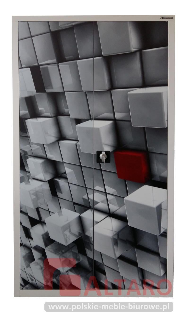 szafa metalowa ALTARO kostka stalowa