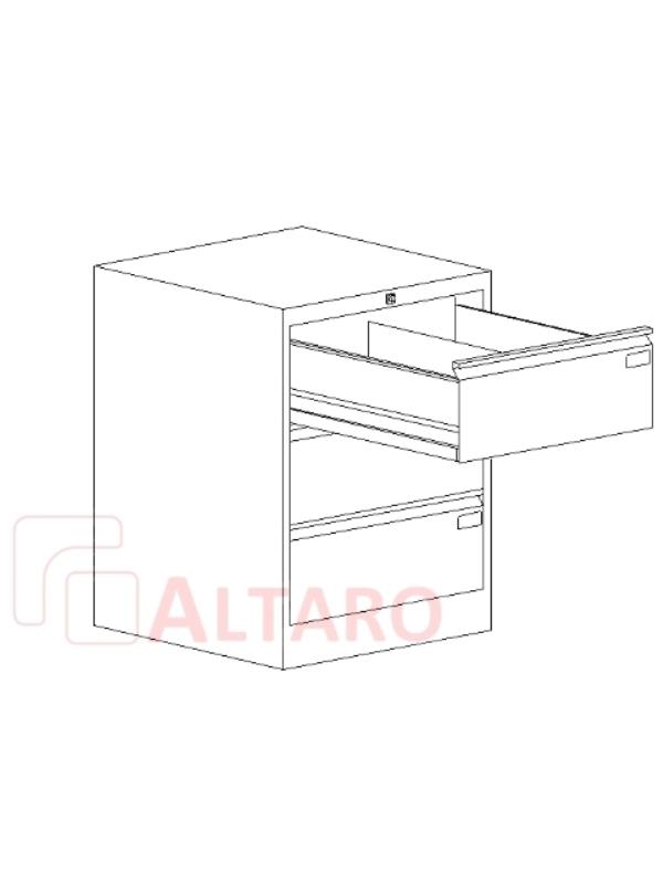 szafa kartotekowa B5 ALTARO Ekspert MSK 2xB5 4S