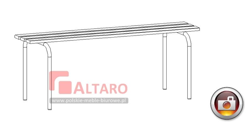 ławka do szatni socjalna BHP Altaro