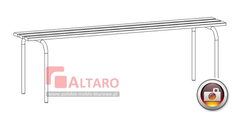 ławki do szatni socjalne BHP Altaro