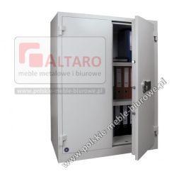 szafa metalowa ognioodporna 2-drzwiowa, 30 min + kl S2