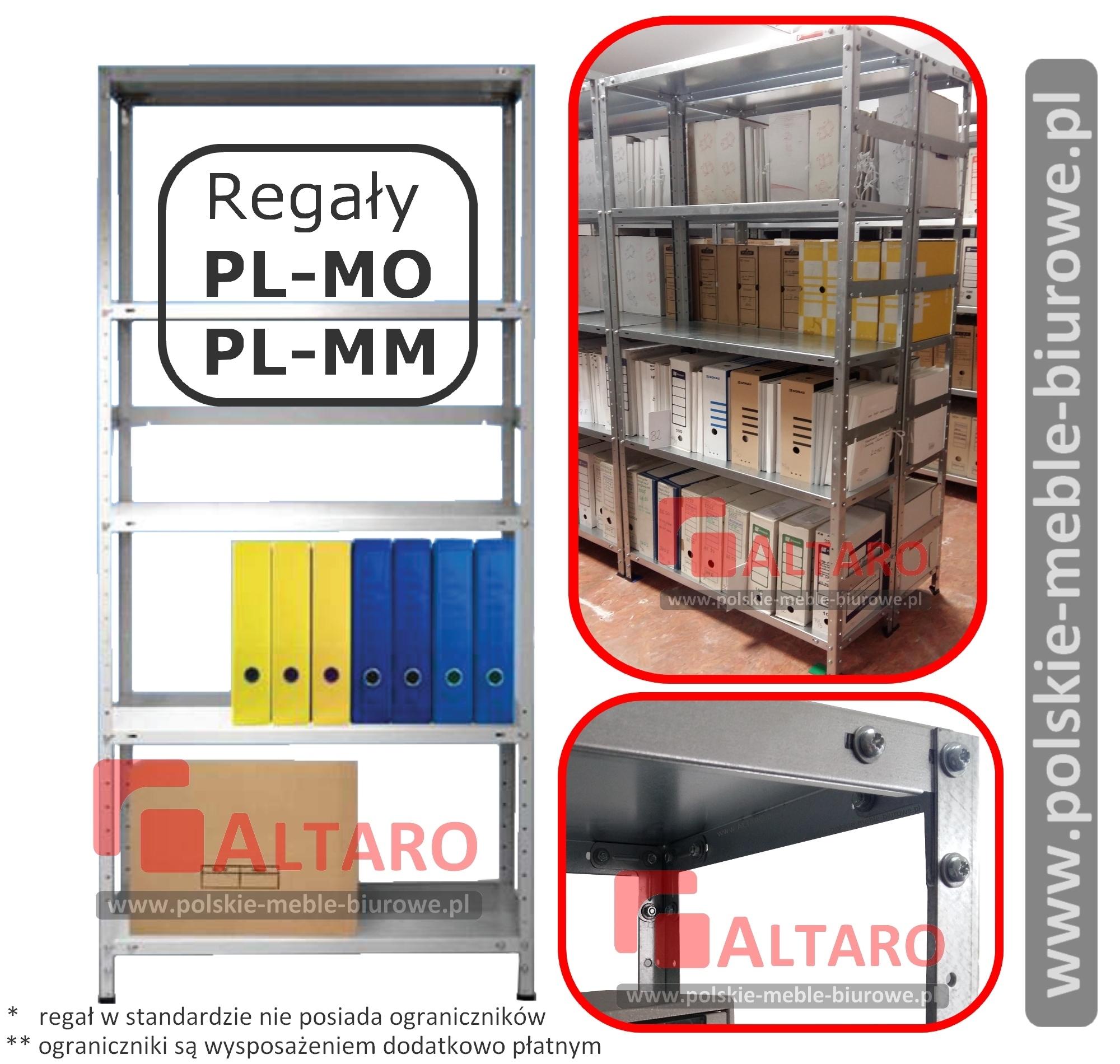 regały metalowe ML-MO i PL-MM od ALTARO