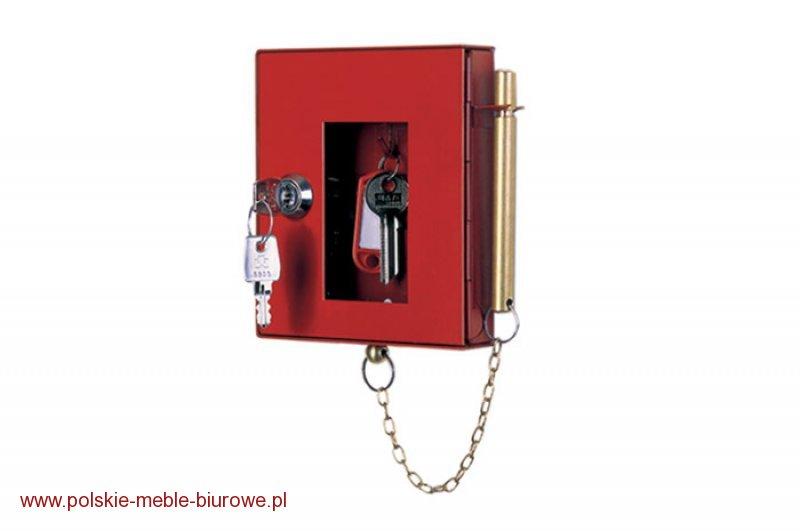 szafka na klucz ewakuacyjny PLSKE ze zbijakiem