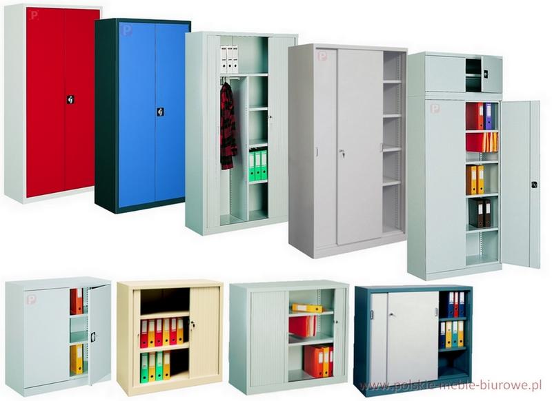 szafy metalowe aktowe stalowe