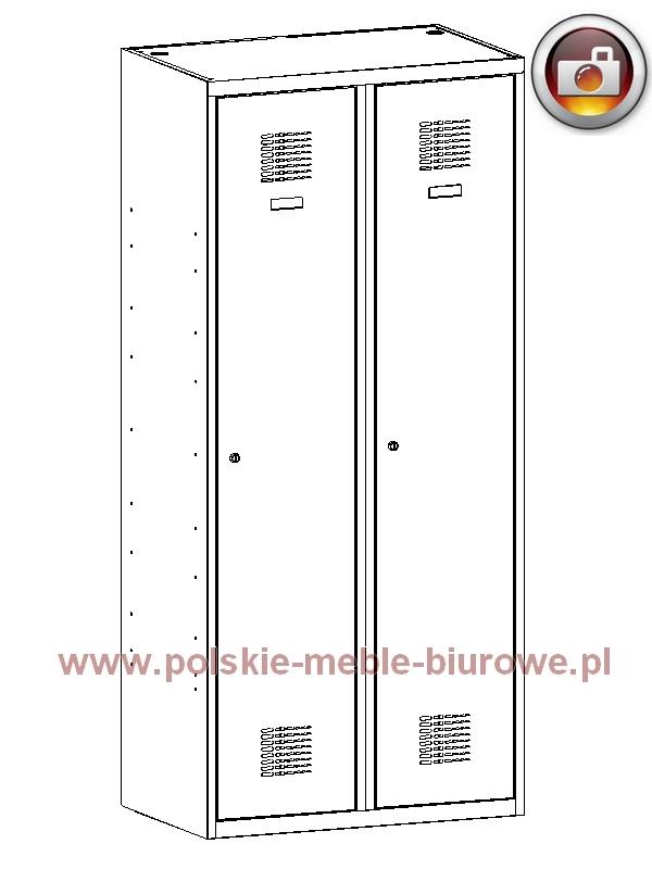 szafka metalowa ubraniowa bhp 420w