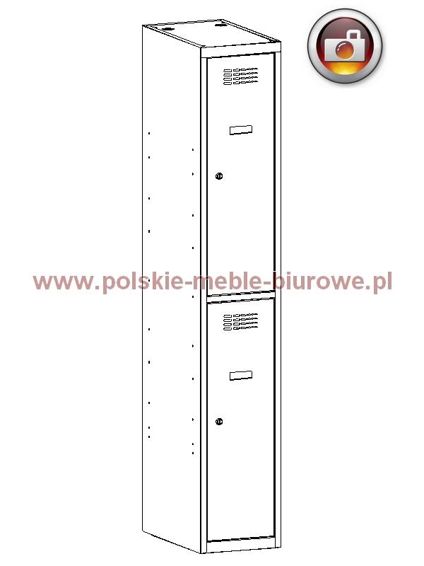 szafka metalowa schowkowa 322