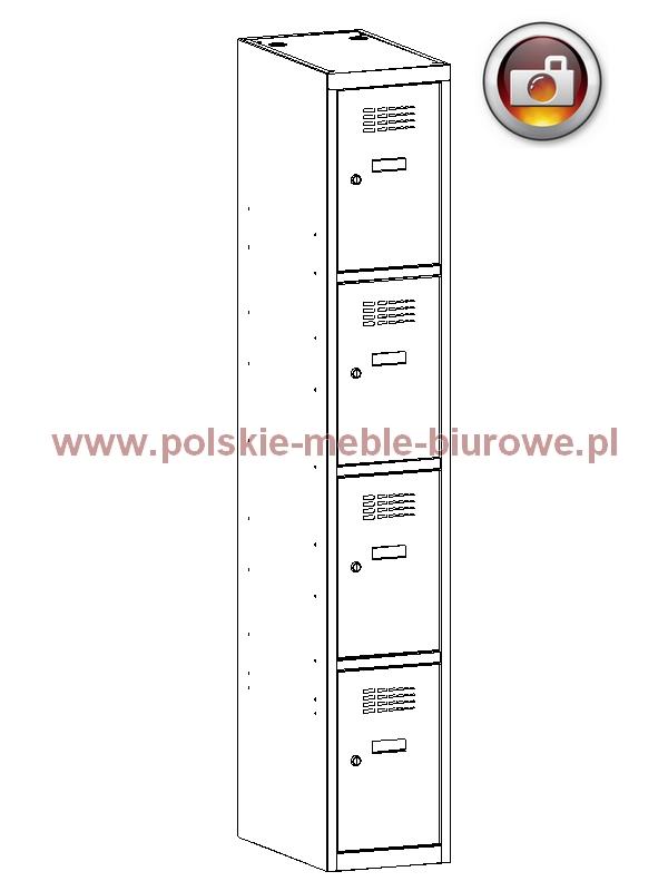 szafka metalowa skrytkowa 314
