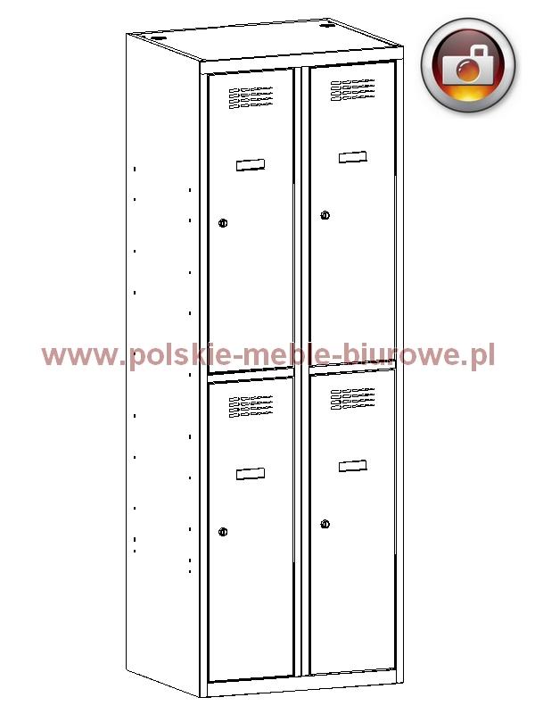 szafka metalowa skrytkowa 322