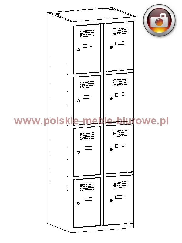 szafka metalowa skrytkowa 324