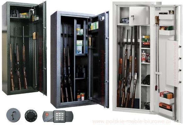 szafy na broń - szafy myśliwskie