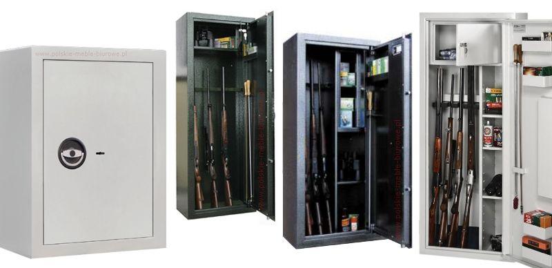 sejfy i szafy na broń