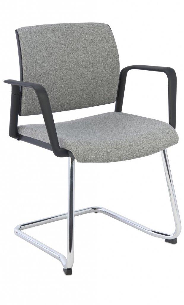 krzeslo set v arm chrome