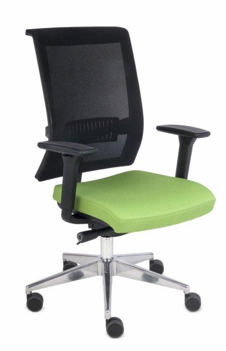 krzesło biurowe LEVEL BS chrome