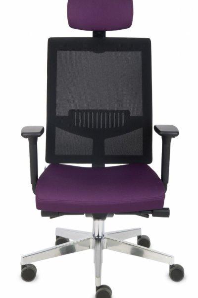 krzesło biurowe LEVEL BS HD chrome