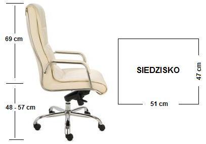 fotel gabinetowy nexus wymiary