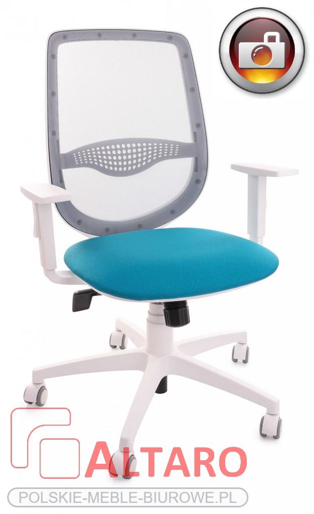 krzesło biurowe ZUMA white