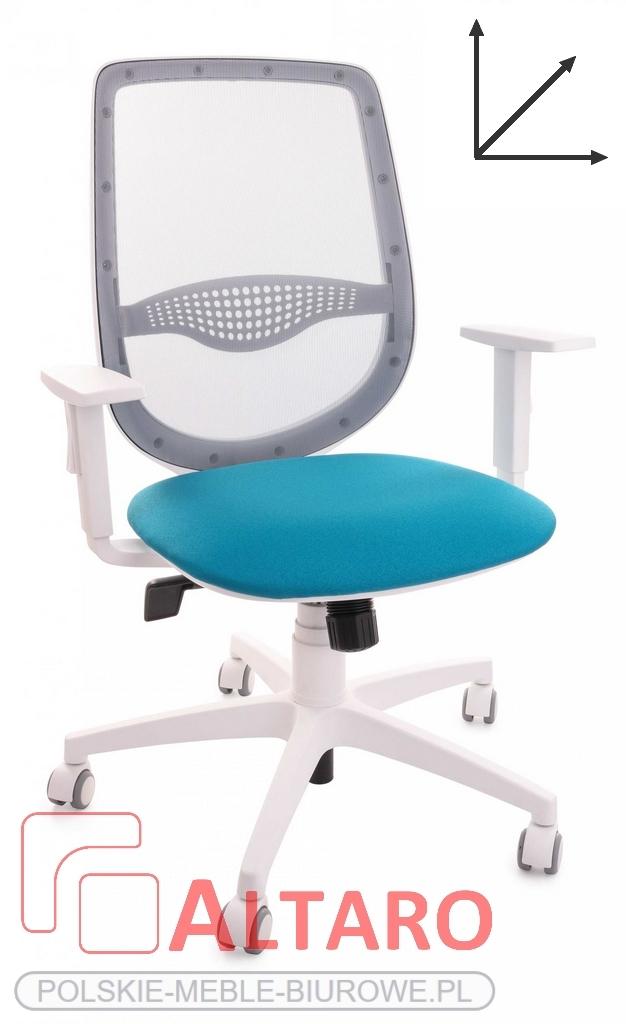 krzesło biurowe zuma black wymiary