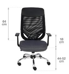 krzesło biurowe optimal wymiary