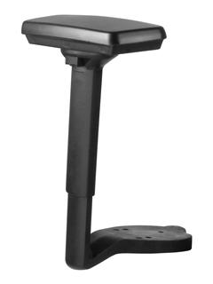 Podłokietnik 3D PU- regulowany góra -dół,nakładka obrotowa