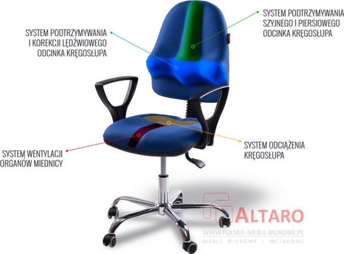 Krzesło profilaktyczno- rehabilitacyjne model K1 Classic