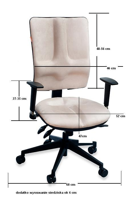 Krzesło busines wymiary