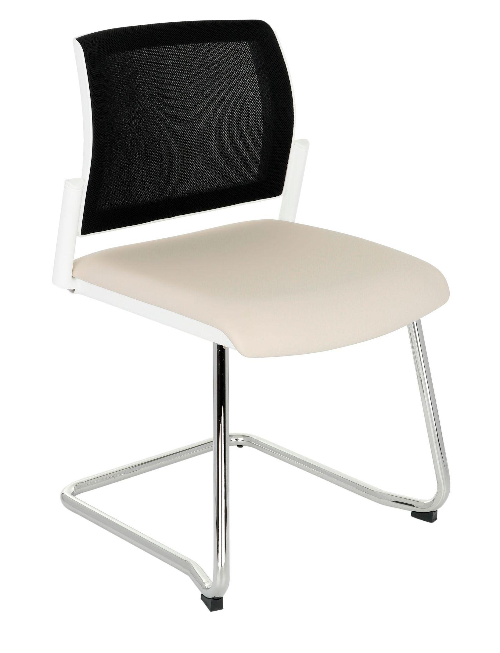 krzesło biurowe SET WHITE