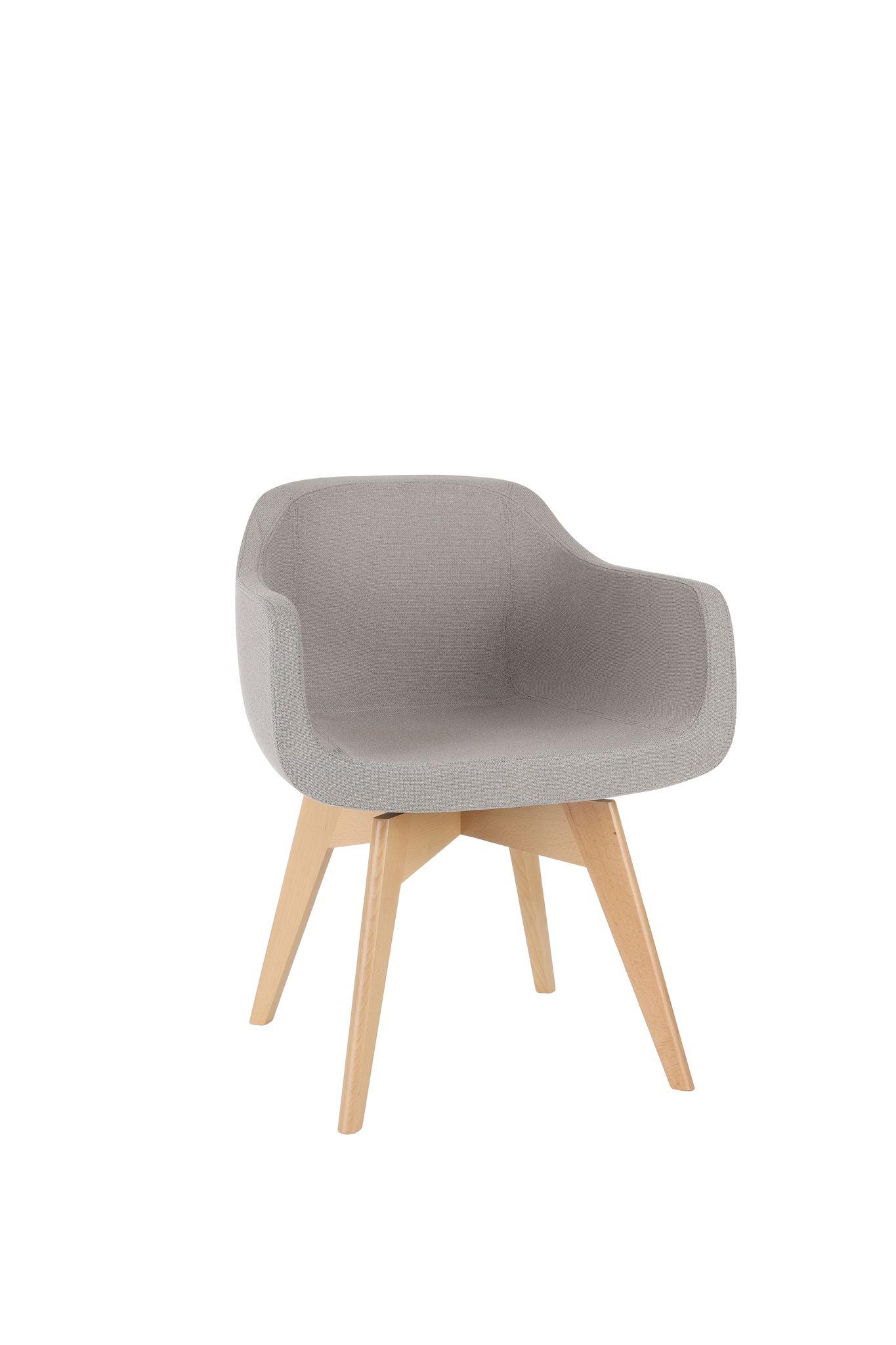 krzesło biurowe SOUL WOOD